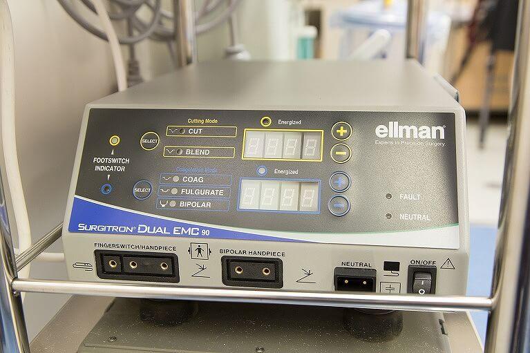 高周波ラジオ波メス(ellman)