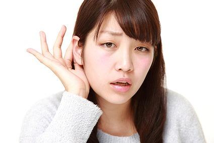 難聴(耳が聞こえにくい)にも様々な種類がある